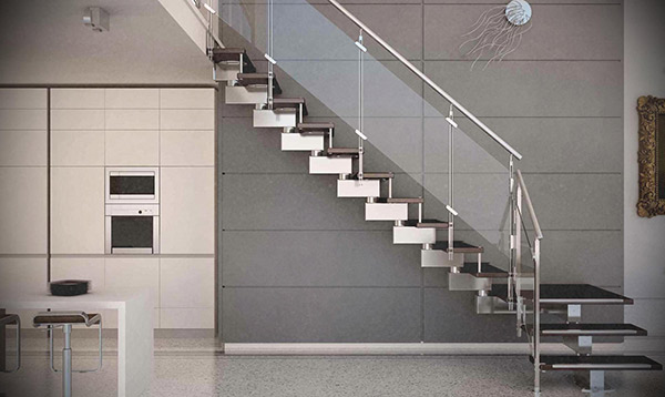 Staircase Glass Railing 1